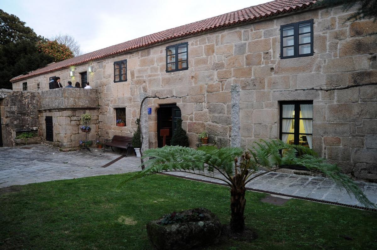 Casa del cuadrante del casco vello de Vilanova de Arousa abella