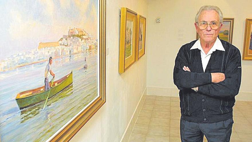 El pintor ibicenco Antoni Prats  fallece a los 94 años