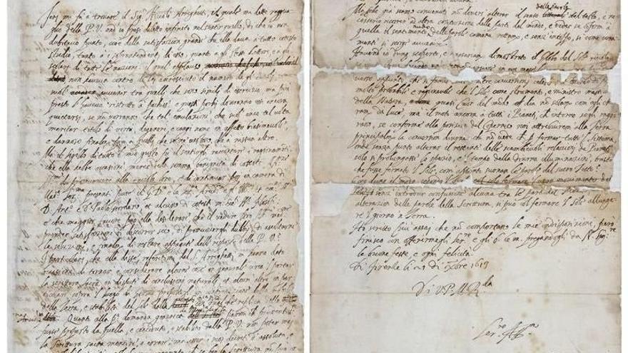 Encuentran la carta con la que Galileo Galilei intentó engañar a la Inquisición