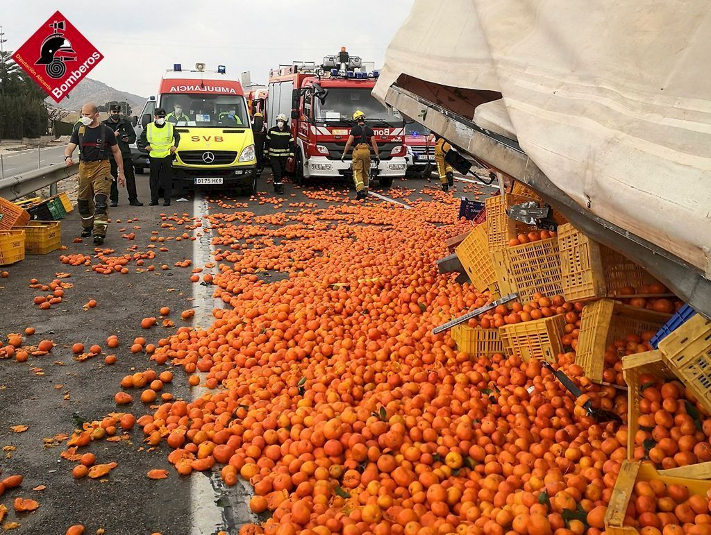 Tráfico en Alicante: atasco kilométrico en la A-31