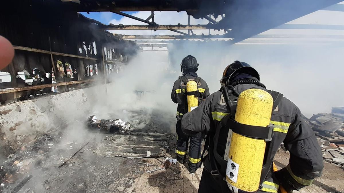 Incendio en Las Torres