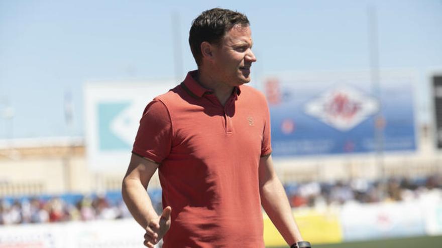 Mario Simón, el entrenador elegido por Manolo Molina para el Real Murcia