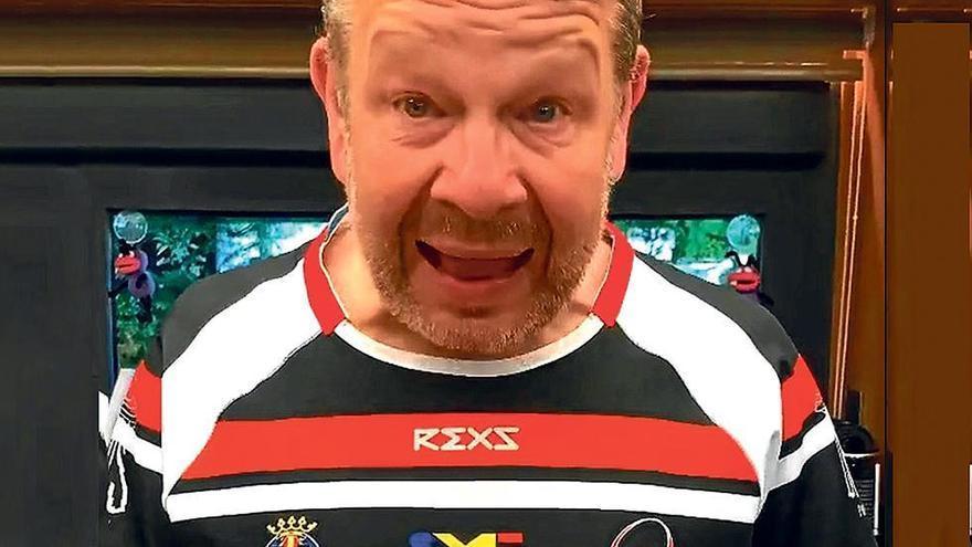 Chicote, el mejor embajador del Vila-real Club Rugby Penyagolosa