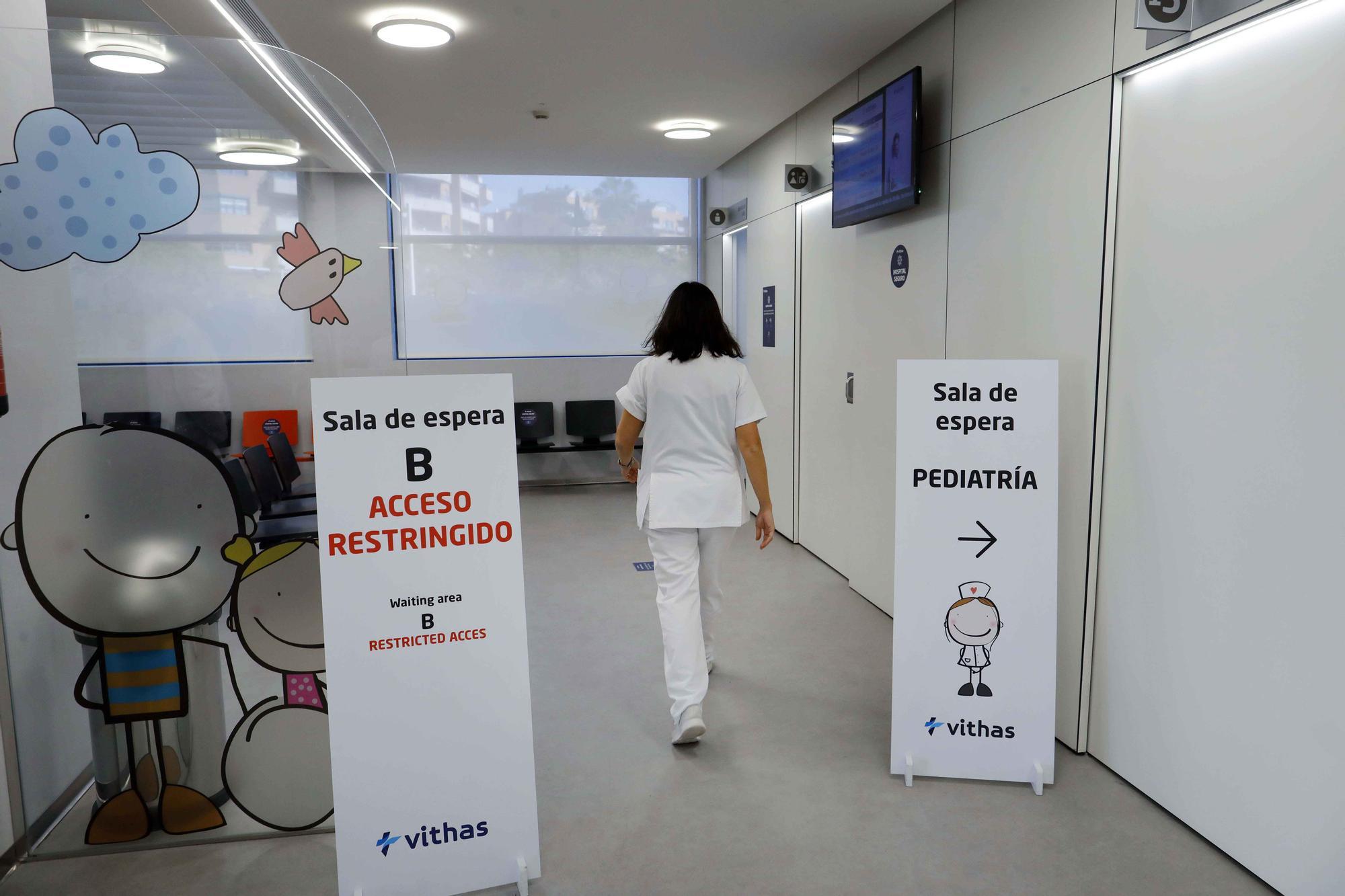 Servicio de Urgencias del Hospital Vithas Valencia 9 de Octubre