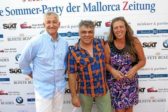 Jochen Schüler, Toni Orell und Nathalie Korcz