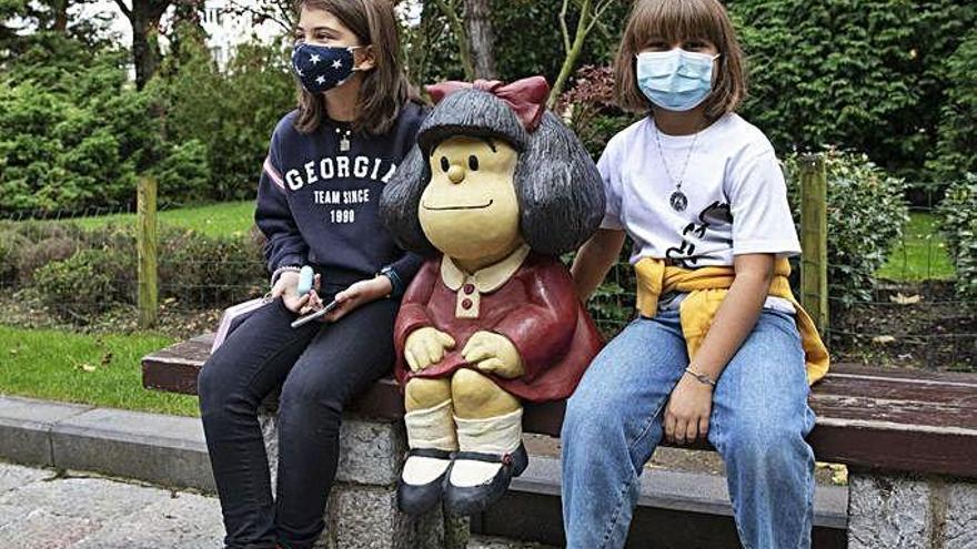 Woody Allen y Mafalda, premio instantáneo