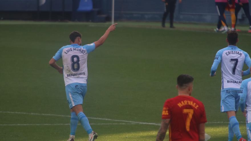 Puntuación de los jugadores del Málaga CF, uno por uno
