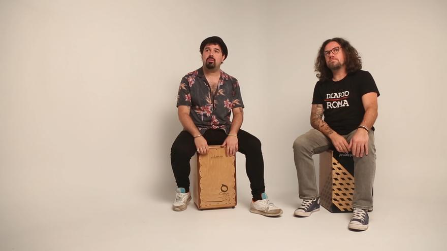 Muelología 113: Sergio y Nacho García Pevida (Percusionistas) - 1 imagen 10 palabras