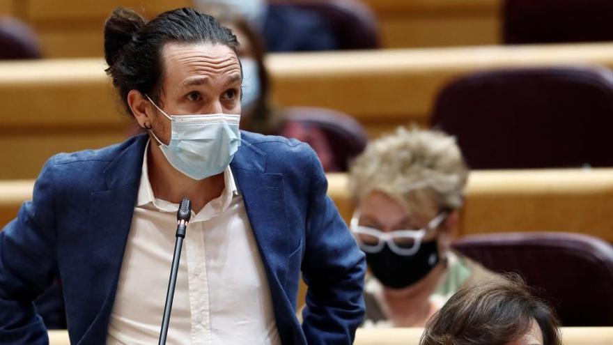 """Iglesias acusa al PP de """"normalizar la mentira"""" para buscar ruido parlamentario"""