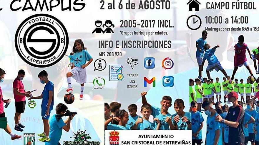 """""""Football Experience"""" llega a San Cristóbal de Entreviñas"""