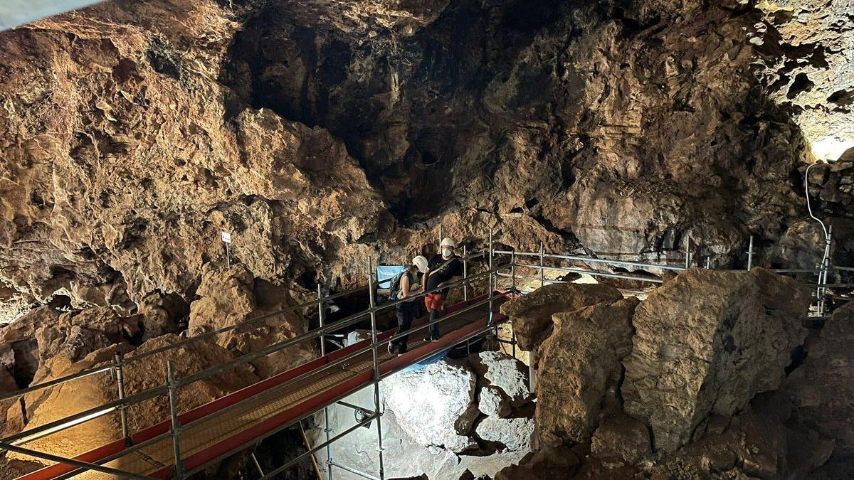 Imagen de la Cueva Victoria.