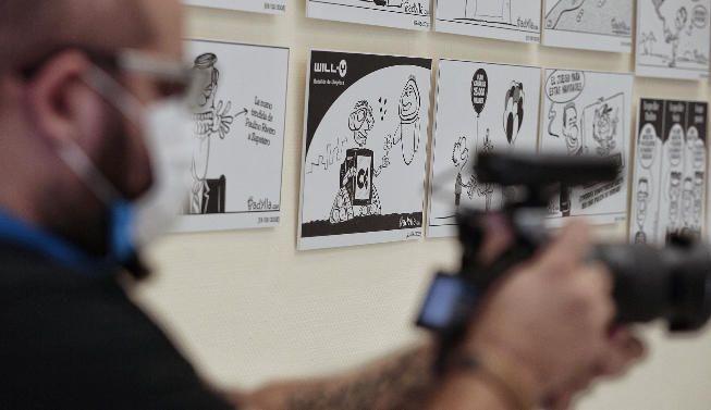 Exposición 'Las viñetas de Padylla'