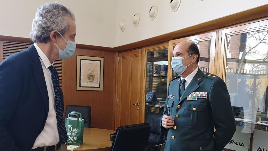 El Tinent Coronel Llucià Anton Vives, nou cap de la Comandància de la Guàrdia Civil de Girona.