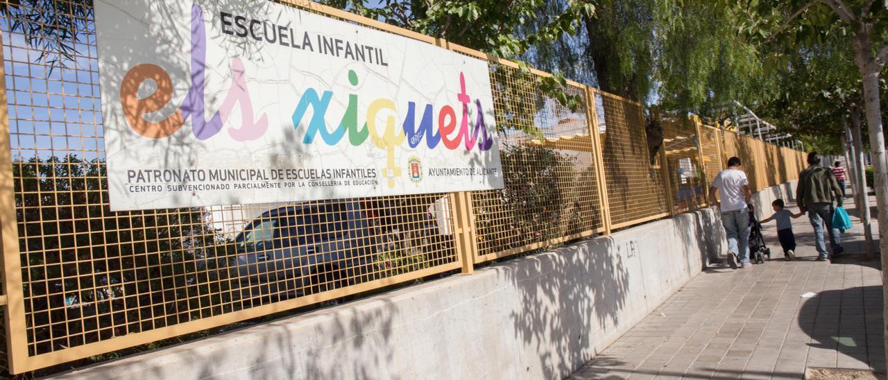 Ïmagen de archivo de la escuela infantil Els Xiquets de Alicante