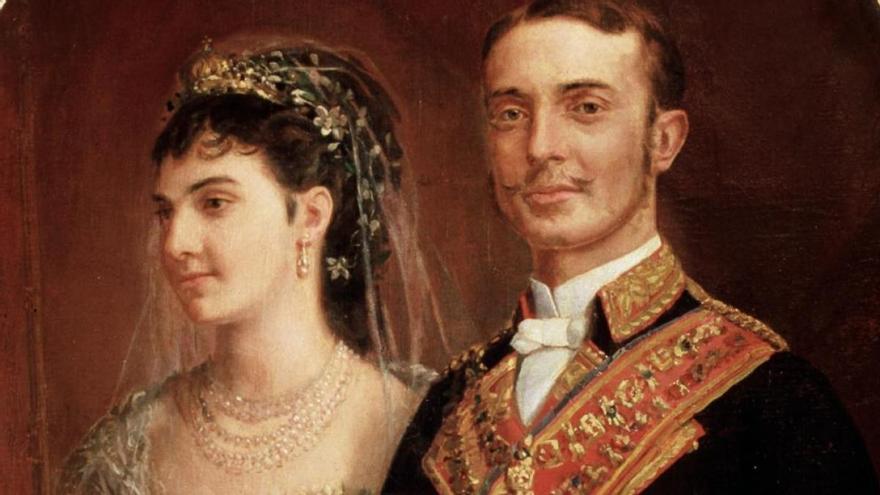 María de las Mercedes de Orleáns y Borbón protagoniza la charla de Antonio González Padrón