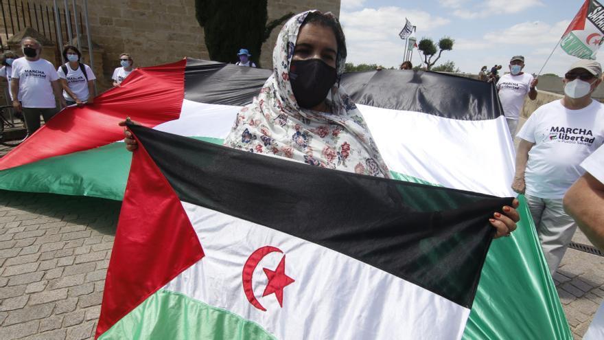 La marcha por el pueblo saharaui