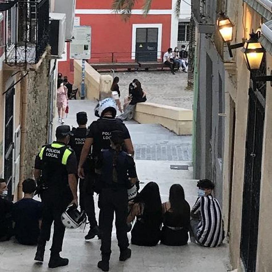 Agentes en el Casco Antiguo