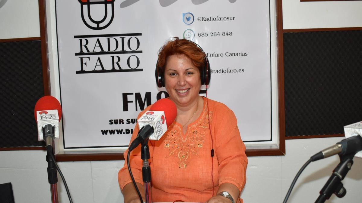 La concejala delegada de Recursos Humanos Pino Dolores Santana