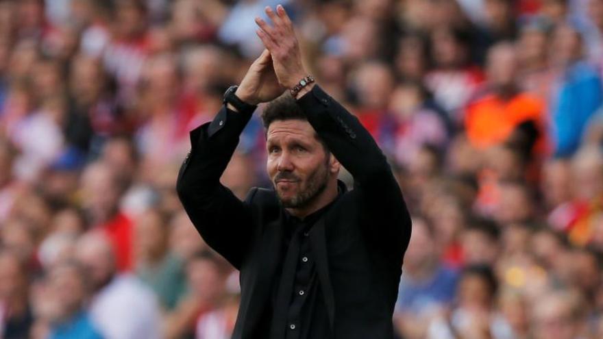 Simeone, mejor entrenador del mundo por delante de Zidane