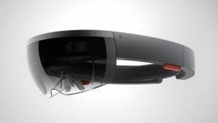Hololens de Microsoft, ejemplo de smart glasses