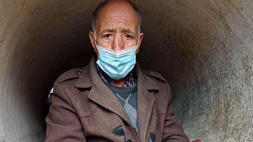 Un año viviendo en un tubo de obra en Moreda