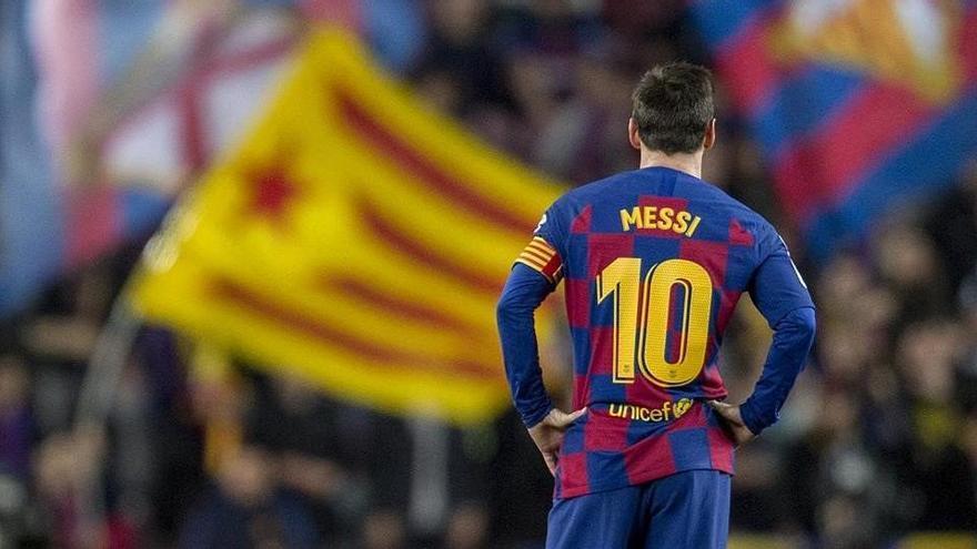 Messi respon a LaLiga i manté el pols al Barça