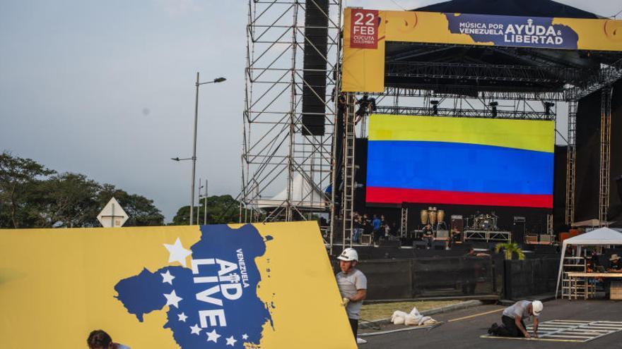 Numerosos artistas reconocidos actúan hoy en el concierto 'Venezuela Aid Live'