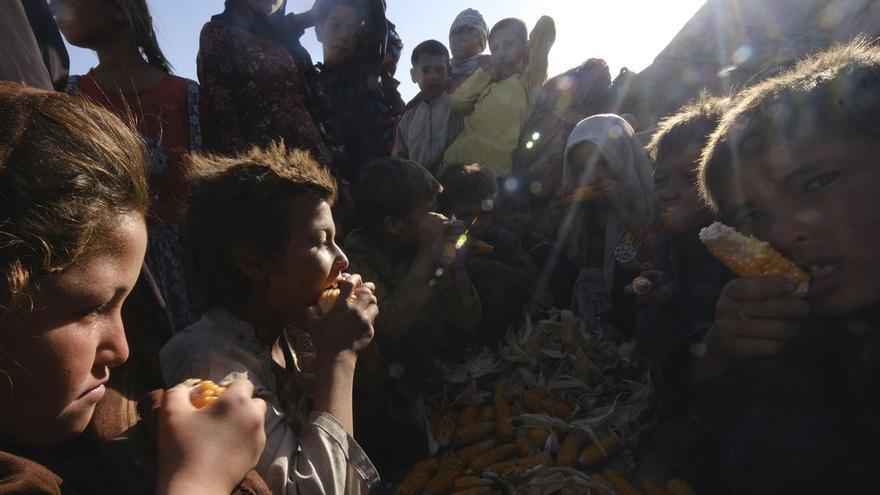 Afganistán se ahoga en la pobreza