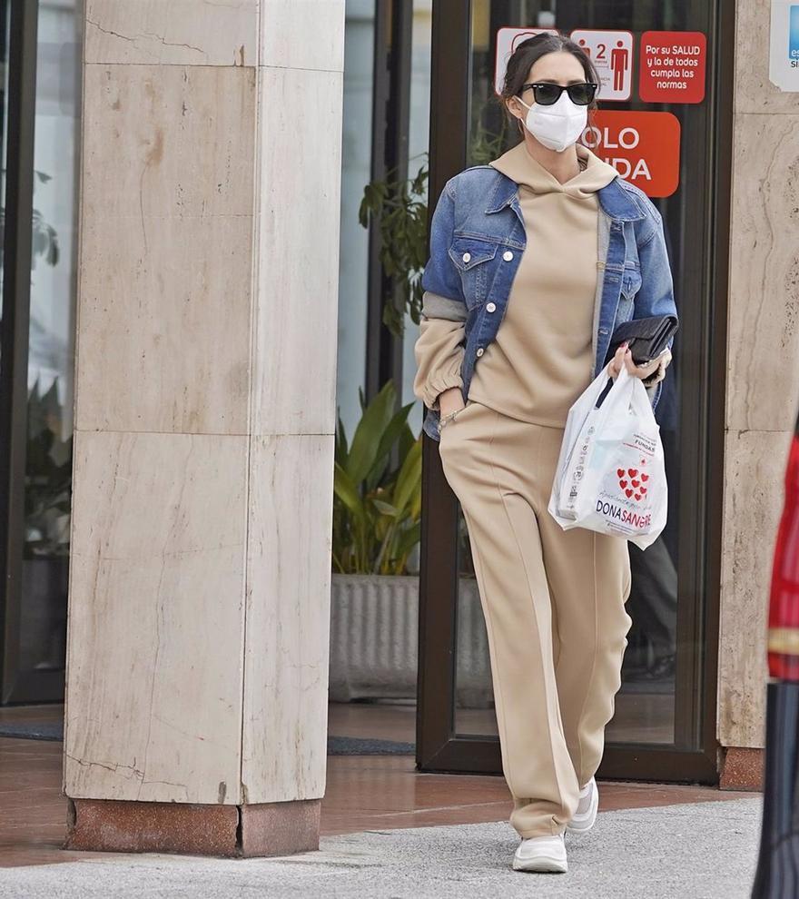 Sara Carbonero se suma a la moda jogger