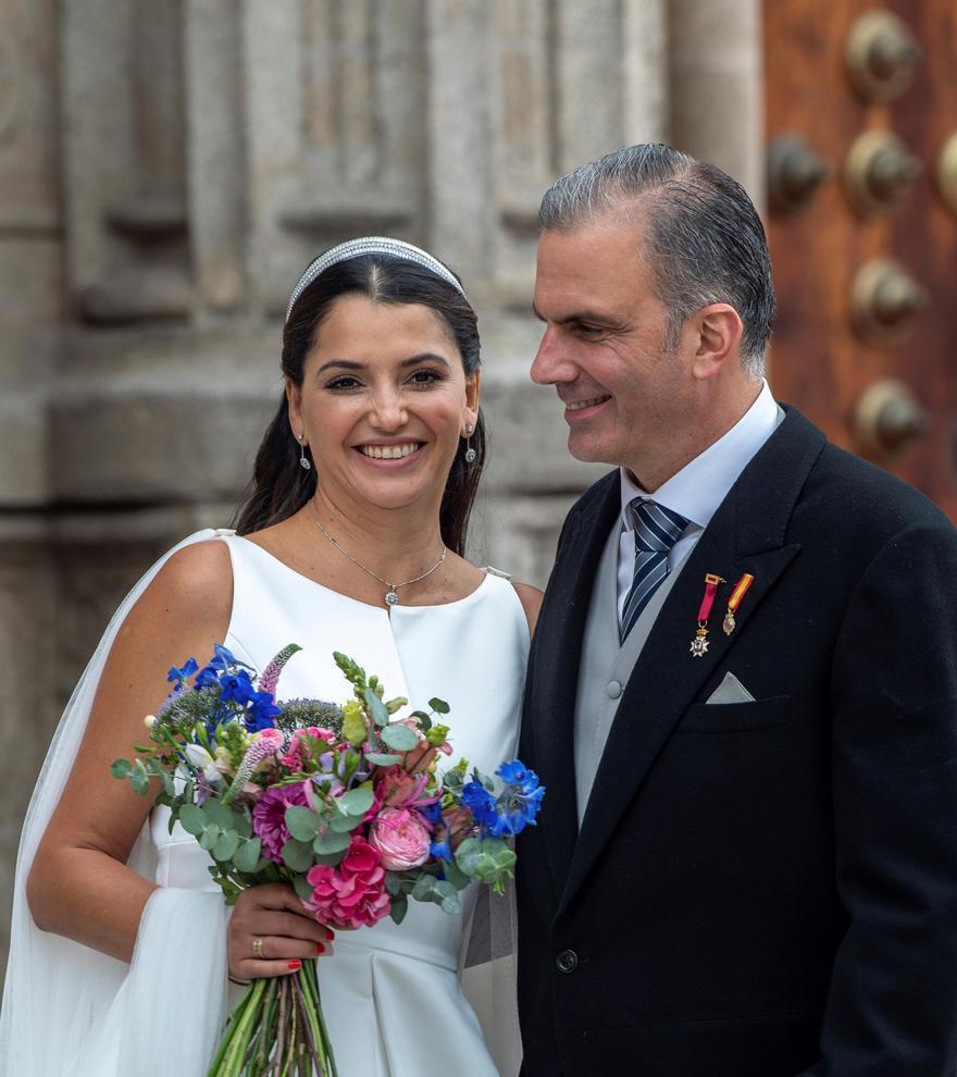 Ortega Smith se casa en Toledo
