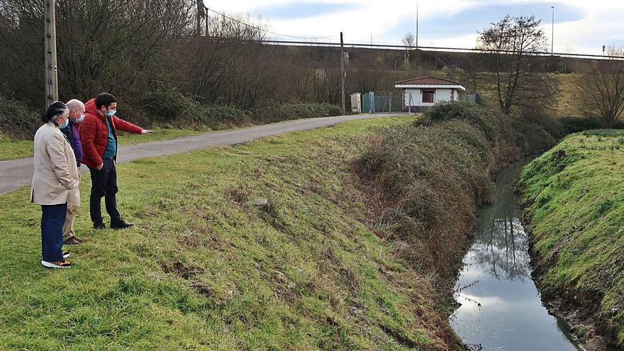 El saneamiento de Lugo, Fonciello, Caraviés y Cayés, en Llanera, costará dos millones