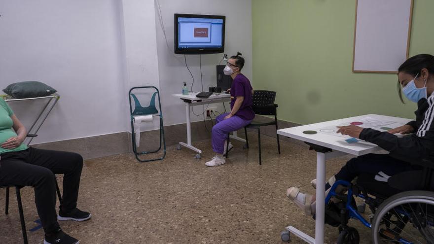 Terapias y talleres a 2 metros de distancia