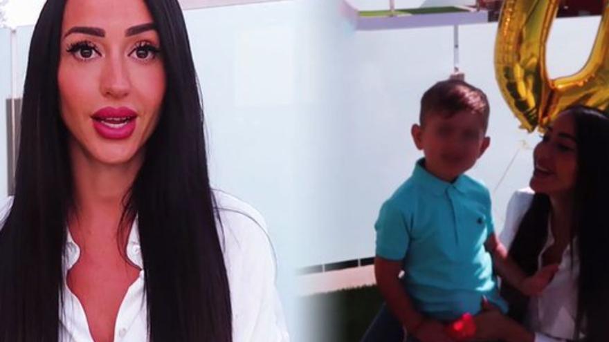 Aurah Ruiz, preocupada por la salud de su hijo Nyan