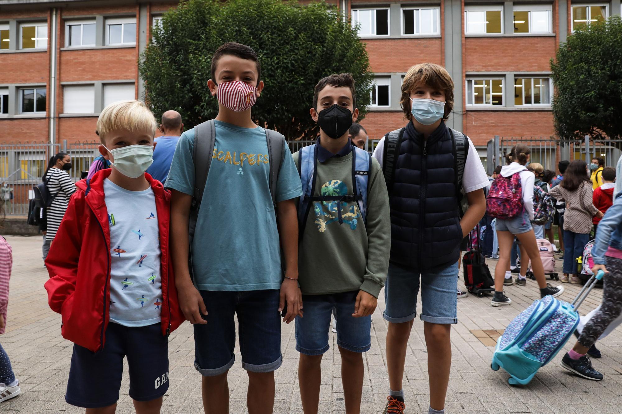 Vuelta al cole en Laviada (Gijón)