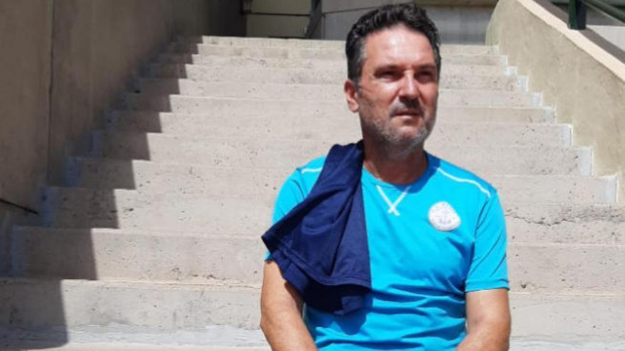 """Quico de Diego cree que el Marino irá """"de menos a más"""" en el nuevo curso"""