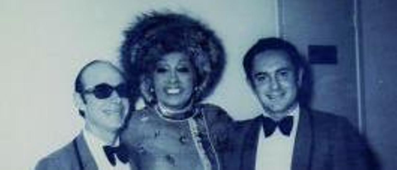 Josephine Baker actuó en 1965.