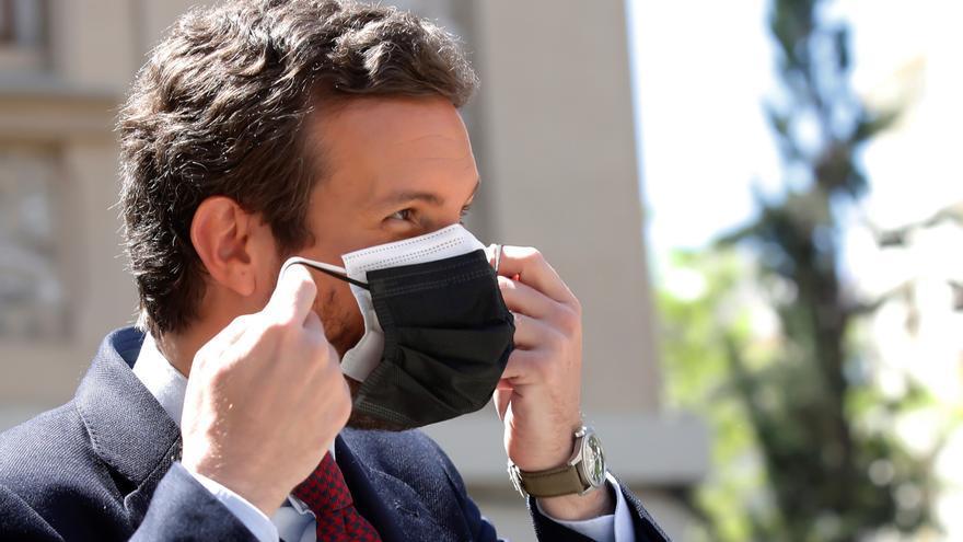 """Casado culpa a Sánchez del """"caos"""" tras el estado de alarma"""