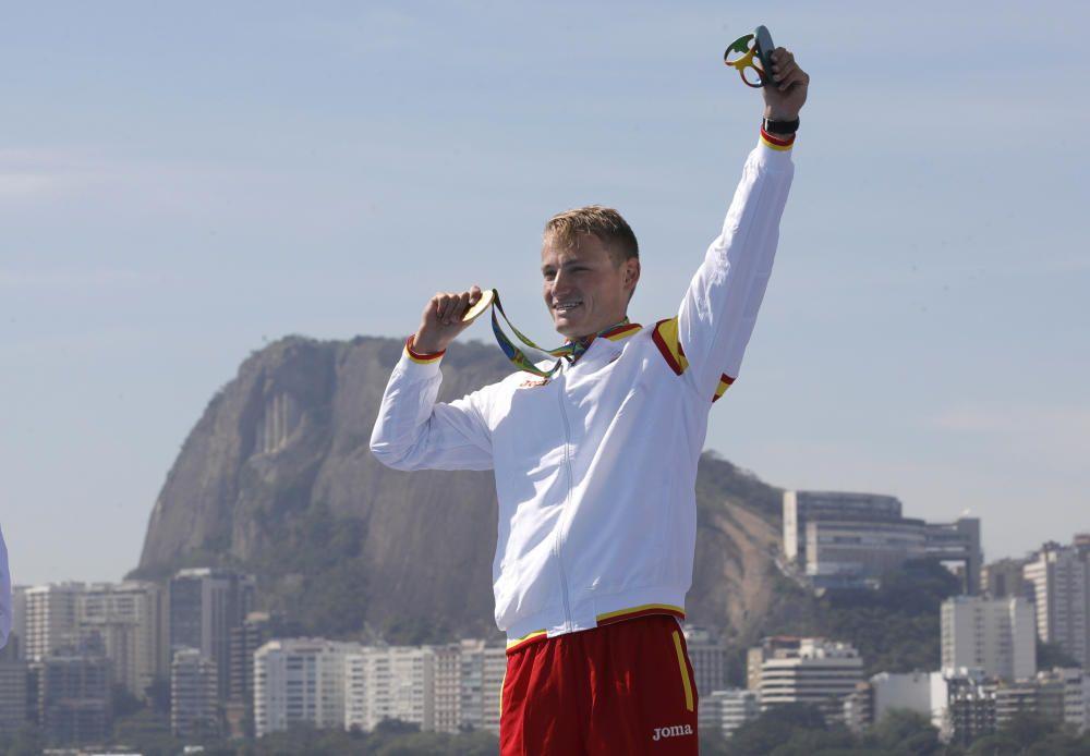 Marcus Cooper Walz: Oro en kayak 1000m