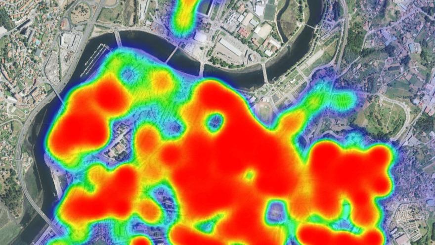 El Concello de Pontevedra pone en marcha un sistema de georreferencia de todo el municipio