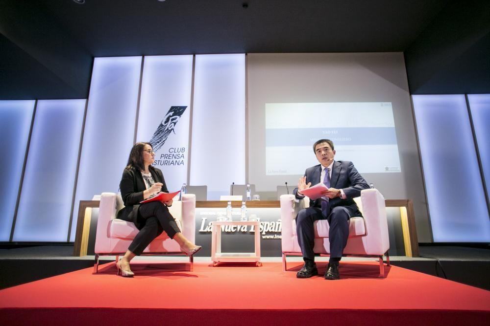 """Foro """"China, una oportunidad para Occidente"""" en el Club Prensa Asturiana de LA NUEVA ESPAÑA"""
