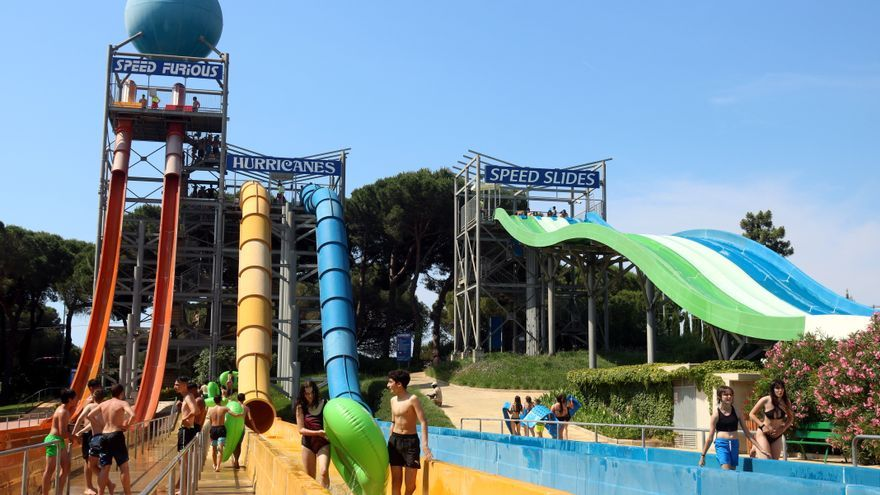 Arrenca la temporada als parcs aquàtics de la Costa Brava amb l'objectiu d'acostar-se a les xifres prepandèmia
