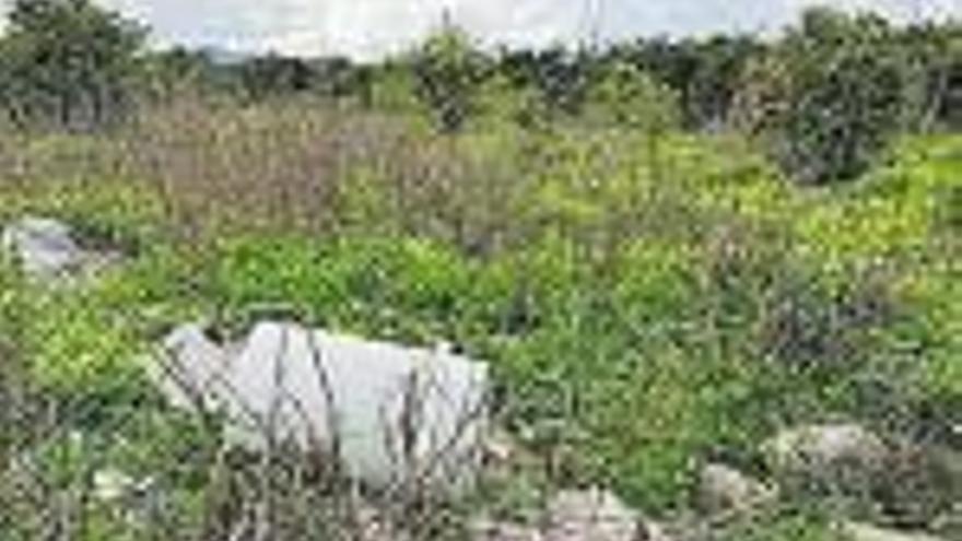 Terrenos propicios para vertidos ilegales