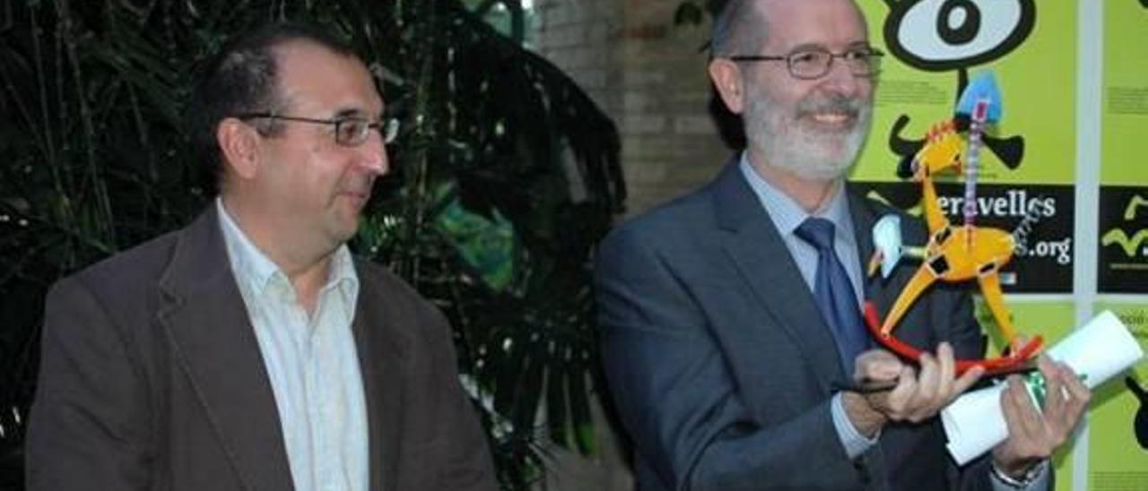 Entregan al consistorio de Xàtiva el premio «Meravelles» del que Rus se desentendió