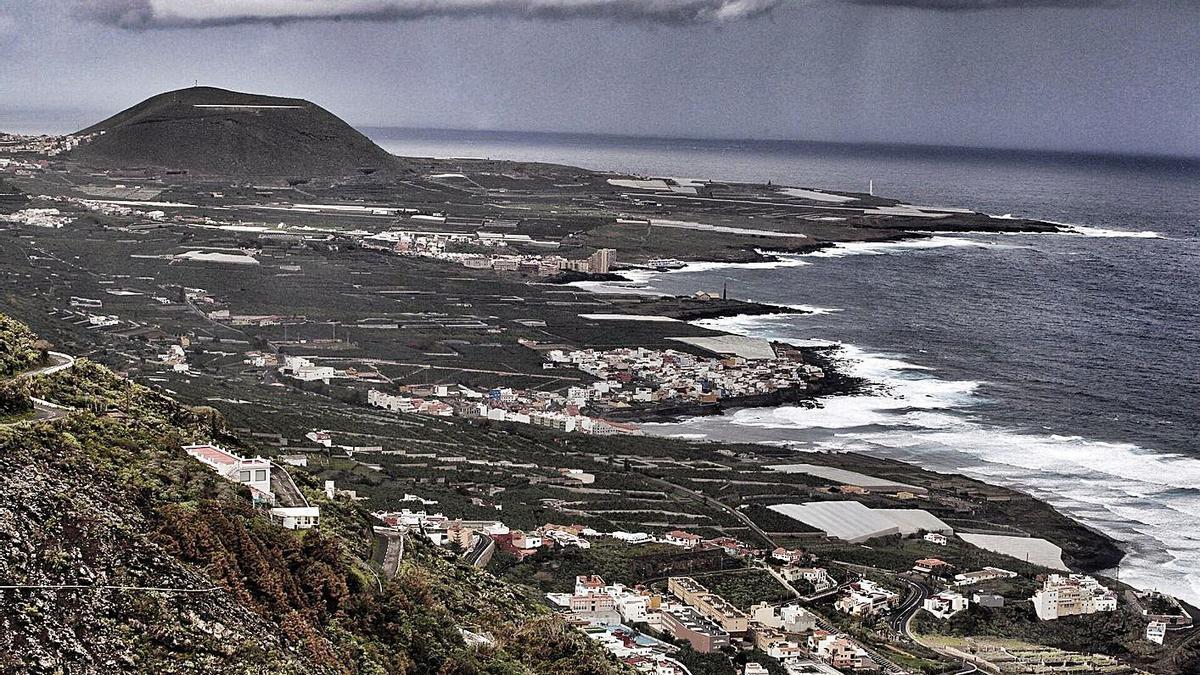 El emisario submarino comarcal de Los Silos se ubica en el entorno del Charco de la Araña, en la Isla Baja.