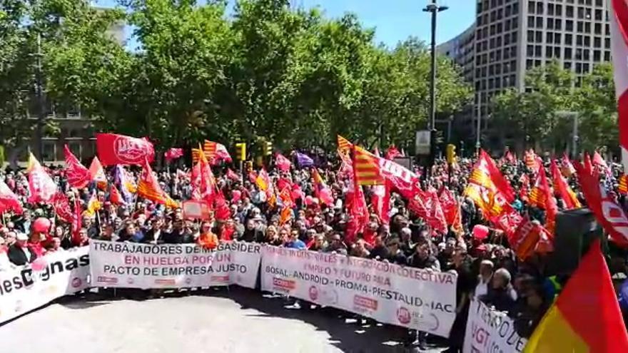 Manifestación 1 de mayo- Día del trabajador