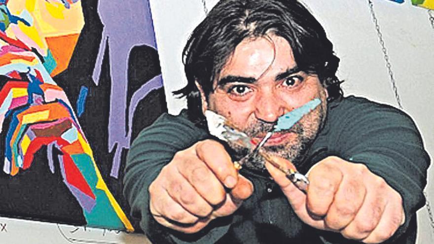José Luis Mesas realizará una obra en Port Adriano y la donará a Cáritas