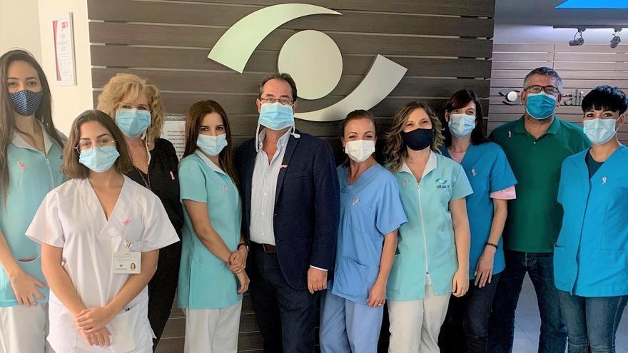 El equipo de Oftálica se solidariza con la lucha contra el cáncer de mama