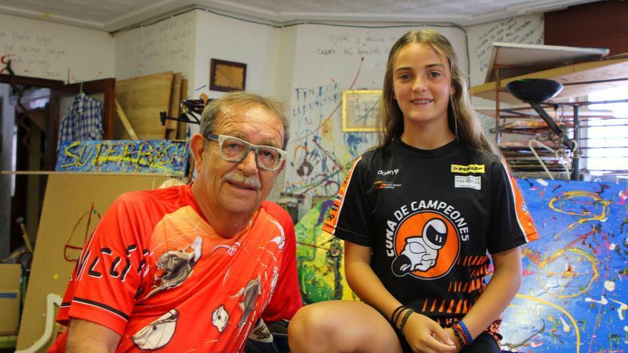 Fundación Rincón patrocinará a la joven piloto Alejandra Fernández