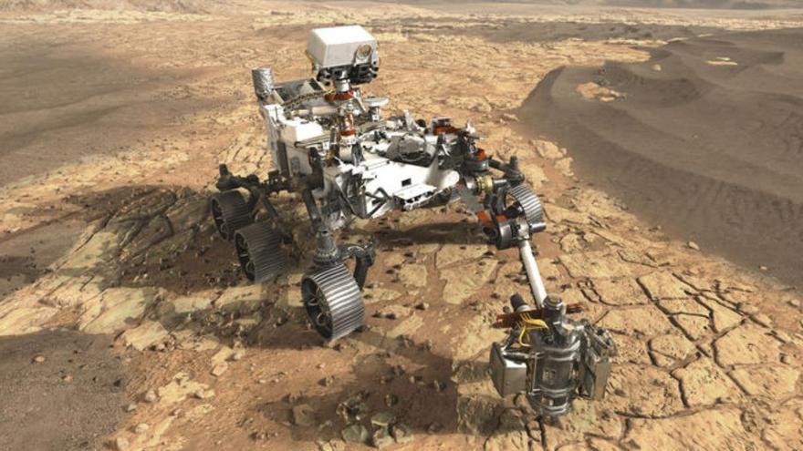 No hay gallegos en Marte