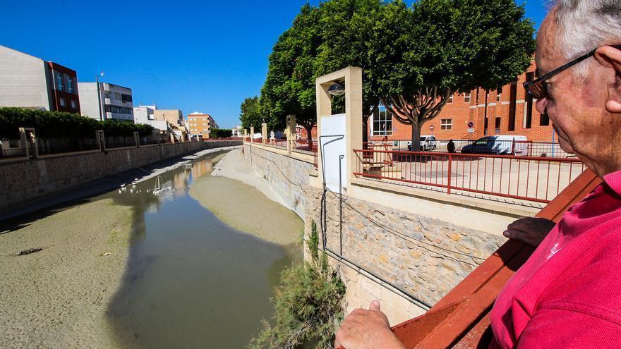 """Segura Transparente atribuye a los regadíos del Trasvase que el río Segura en la Vega Baja """"esté cada vez más contaminado"""""""